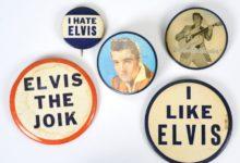 """Photo of Manažer Elvise Presleyho vydělával prodejem odznaků """"Nenávidím Elvise"""""""