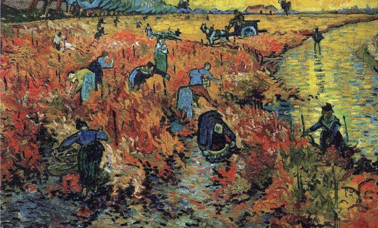 Van Gogh Red Vineyard