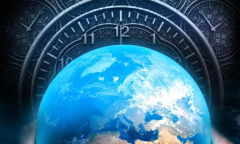 zeme jako hodiny