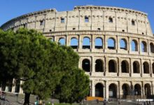 Photo of V římském Koloseu se pořádaly simulované námořní bitvy