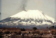 Photo of Na Aljašce vroce 1974 začalo kouřit ze sopky. Šlo ale jen oaprílový žert