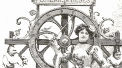 Photo of V roce 1911 pořádal francouzský sirotčinec tombolu, ve které se hrálo oděti