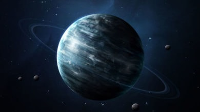 Photo of Uran má ze všech planet nejchladnější atmosféru steplotou −224°C