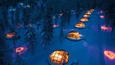 Photo of Ve Finsku můžete sledovat polární záři ze skleněných iglú